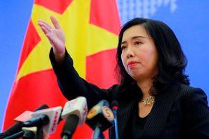 Việt Nam đã gửi công hàm về phát biểu của Thủ tướng Singapore Lý Hiển Long