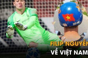 Filip Nguyễn về Việt Nam xem King's Cup, chạy xe máy và ăn món cuốn