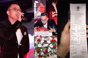 Nhạc sĩ Nguyễn Hồng Thuận gây 'sốc' với hóa đơn sinh nhật hơn 1,3 tỉ đồng