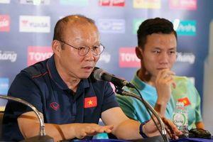 HLV Park Hang Seo: 'Thắng Thái Lan ngay trên sân nhà là điều đáng tự hào'