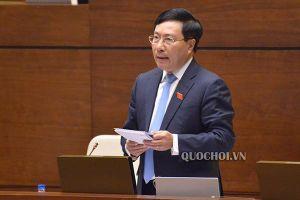 Chất vấn Bộ trưởng VH-TT&DL, Phó Thủ tướng Phạm Bình Minh