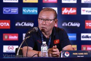 HLV Park Hang –Seo: 'Thắng Thái Lan là điều đáng tự hào'