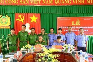 VKSND tỉnh Bình Phước ký quy chế phối hợp với trại giam Tống Lê Chân
