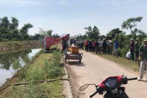 Hà Tĩnh: Phát hiện thi thể thanh niên dưới kênh thủy lợi
