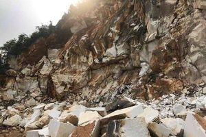 Khoan đá nổ mìn, một lao động thiệt mạng