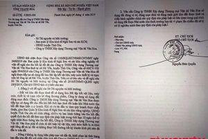 Thanh Hóa: Vì sao không giải quyết dứt điểm việc Công ty Văn Hoa san lấp biển trái phép?