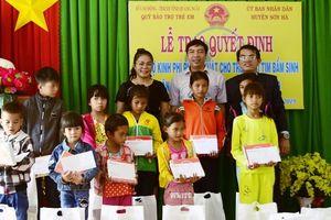 Quảng Ngãi: Huy động 2,2 tỷ đồng mổ tim bẩm sinh cho 38 trẻ em