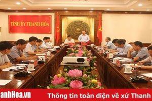 Đoàn công tác Ban Kinh tế Trung ương làm việc với tỉnh Thanh Hóa về công tác phòng chống dịch tả lợn châu Phi