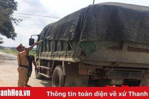 Công an huyện Thiệu Hóa phát hiện, xử lý gần 700 trường hợp vi phạm trật tự ATGT