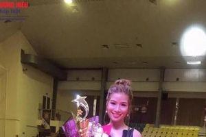 Phan Thị Liên đoạt giải nhì - Trang điểm nghệ thuật tại cuộc thi 'Ngôi sao Thương hiệu Thẩm mỹ Việt Nam lần thứ I'