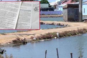 Cho thuê đất trái luật, một phó chủ tịch huyện ở tỉnh Ninh Thuận nói 'chuyện đã lỡ'