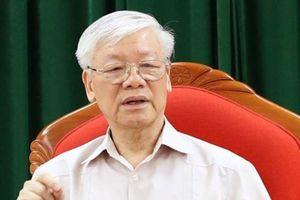 Bài viết của Tổng Bí thư Nguyễn Phú Trọng về Đại hội Đảng bộ các cấp
