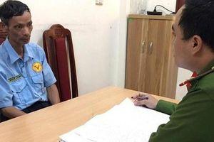Lời khai của nhân viên bảo vệ 52 tuổi ở Hà Nội đâm chết người vì mâu thuẫn tình ái