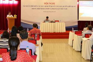 Tập huấn phổ biến các quy định về quyền tác giả, quyền liên quan trong Hiệp định CPTPP và pháp luật Việt Nam