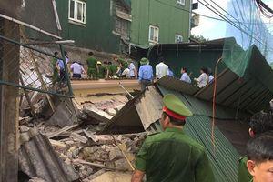 Nạn nhân vụ sập nhà ở Hà Tĩnh đã tử vong tại bệnh viện