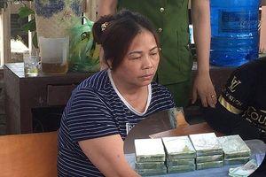 'Nữ quái' vận chuyển 11 bánh heroin bị bắt giữ như thế nào?