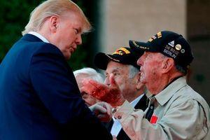 Bài phát biểu xúc động của TT Trump ở lễ kỷ niệm trận Normandy lịch sử