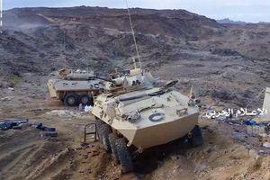Lính Saudi bỏ vũ khí xịn tháo chạy