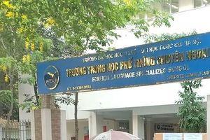 Điểm chuẩn vào lớp 10 Trường THPT chuyên Ngoại ngữ