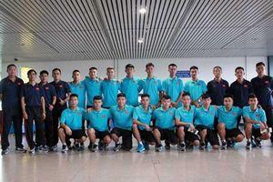 Tuyển U20 futsal Việt Nam tập huấn tại Iran chuẩn bị cho vòng chung kết châu Á