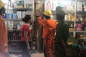 Kiểm tra cháy nổ do chập điện tại các chợ
