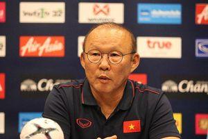 HLV Park Hang Seo: 'Chúng tôi đã thắng trận chung kết với Thái Lan rồi'