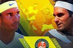 Nhìn lại những màn 'đại chiến' Nadal - Federer ở Roland Garros