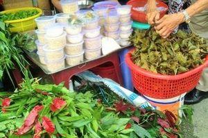 Bánh ú, cơm rượu đắt hàng dịp Tết Đoan Ngọ