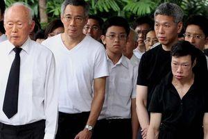 'Đệ nhất thế gia' Singapore và chuyện mâu thuẫn của anh em ông Lý Hiển Long