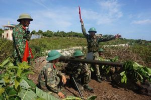 Quảng Trị: Diễn tập khu vực phòng thủ tại đảo Cồn Cỏ