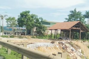 Hương Khê (Hà Tĩnh): Công ty Hoàng Ngọc tự ý san lấp, dựng nhà trái phép