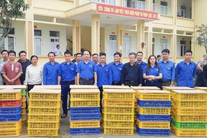 Thanh Hóa: Trao 8.000 gà giống hỗ trợ thanh niên nghèo lập nghiệp