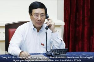 Phó thủ tướng Phạm Bình Minh đề nghị Singapore 'điều chỉnh' phát ngôn Việt Nam 'xâm lược' Campuchia