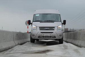 Ford áp dụng đường chạy thử tiêu chuẩn mới cho xe ráp tại Việt Nam