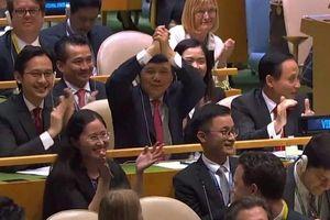 Việt Nam trúng cử Ủy viên không thường trực HĐBA LHQ với số phiếu kỷ lục