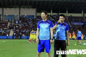 HLV Hàn Quốc không họp báo sau chiến thắng của U23 Việt Nam