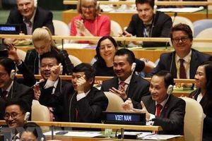 'Đối tác vì Hòa bình bền vững: Việt Nam sẵn sàng đóng góp tích cực cho nỗ lực chung của quốc tế vì hòa bình, an ninh, phát triển và tiến bộ'