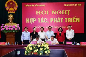 Hà Nội – Hải Phòng: Tăng cường chia sẻ kinh nghiệm trong thu hút đầu tư để phát triển