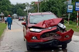 Thông tin mới vụ cán bộ công an lái xe đâm chết 2 người ở Thanh Hóa