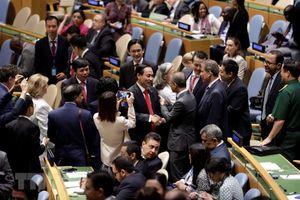 Các nước chúc mừng Việt Nam đắc cử ủy viên không thường trực HĐBA