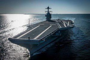 Gặp trục trặc, tàu sân bay mới nhất của Mỹ bị 'trả về nơi sản xuất'