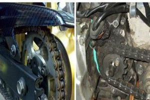 Sai lầm tai hại khi sử dụng khiến xích xe máy nhanh chùng, rão gây tai nạn bất ngờ