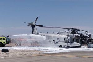Clip: Trực thăng CH-53E Mỹ bốc cháy trên không và cái kết kinh hoàng