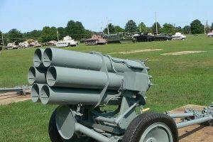 Đức từng sản xuất súng cối 6 nòng Nebelwerfer đối chọi với BM-13-'Katyusha' của Liên Xô