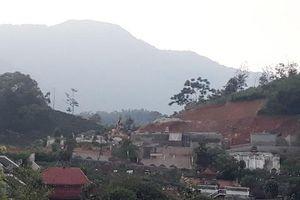 Huyện Bắc Quang chỉ đạo làm rõ hành vi lấn chiếm đất nghĩa trang sau phản ánh của Pháp luật Plus