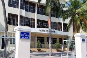 Lộ đề thi Bình Thuận: Cách chức một Phó phòng thuộc Sở GD&ĐT