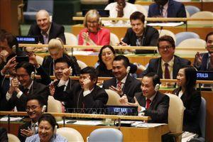 Tự hào và kiêu hãnh khi Việt Nam lần thứ hai trúng cử làm Ủy viên không thường trực Hội đồng Bảo an Liên hợp quốc