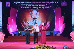 Trao giải Cuộc thi viết 'Những tấm gương bình dị mà cao quý' lần thứ 10