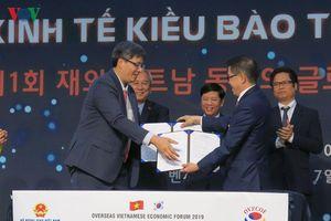 33 hợp đồng trị giá 10 triệu USD được ký tại Diễn đàn Kinh tế kiều bào
