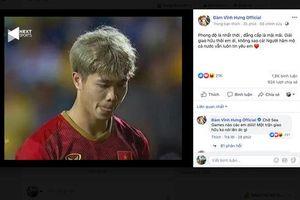 Đàm Vĩnh Hưng nói gì về Công Phượng sau khi sút hỏng 11m trận chung kết King's Cup?